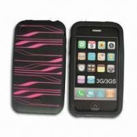 Buy cheap Silicone Case for iPhone, with Grip, Available in Various Colors product