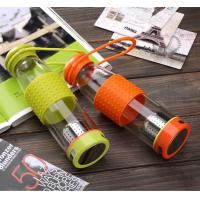 Buy cheap 500ML High Borosilicate Glass Water Bottle Drinking Bottle Glass Travel Cup Auto Mug from wholesalers