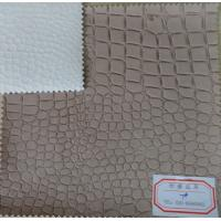 Buy cheap Soft Comfortable Handfeeling PU Coating Fabric 0.8 - 0.9mm Thickness Abrasion Resistant  from wholesalers