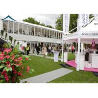 Buy cheap Commercial  Double Deck Outdoor Event Tents With Central Air-Conditioning product
