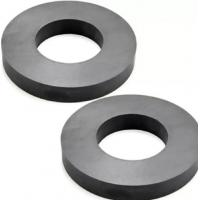 Buy cheap Hard Ferrite Industrial Strength / Durable Round Ceramic Magnets product