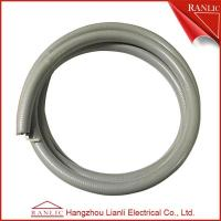 Buy cheap Gray 1/2 Liquid Tight Flexible Electrical Conduit PVC Coated With Cotton Wire from wholesalers