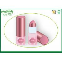 Custom Eco Friendly Lip Balm Tubes , Paperboard Containers For Cosmetics