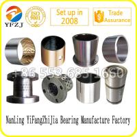 Buy cheap Sintered bronze bi metal slide bush Du bearing Dx bearing Brass bushing Bronze bushing from wholesalers