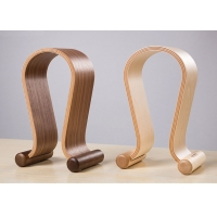 Buy cheap Solid Wood Headphone Stand, Headphone Display Stand, Headphone Hanger, U-Shaped Wooden Headphone Stand from wholesalers