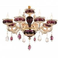 Buy cheap French zinc alloy jade LED crystal chandelier luxurious living room villa restaurant chandelier hotel engineering Chande from wholesalers