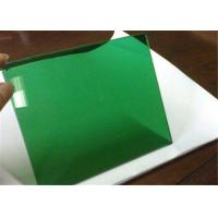 Dark Green Tinted Float Glass 3mm - 12mm Thickness For Building Glass