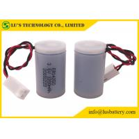 Buy cheap ER14250 Li-SOCl2 Battery 1/2 AA size lithium battery with case for meter from wholesalers