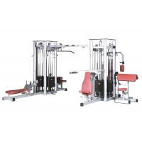 Buy cheap Commercial Multi Station Workout Machine Comfortable Back Pad OEM Service from wholesalers