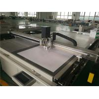Serial Port Flatbed Digital Cutter For Automobile Decoration Materials