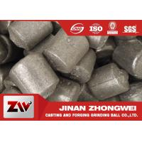 Buy cheap High chrome / low chrome / medium chrome casting iron cylpebs for building material industry product