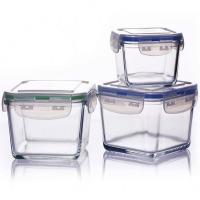 Buy cheap High temperature resistance food containers with lids from wholesalers