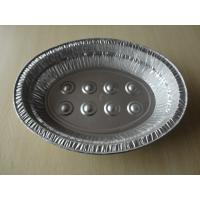 Buy cheap 6L Oval Large disposable aluminum roasting pans For Baking Turkey Roaster from wholesalers