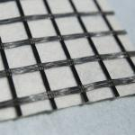 Buy cheap Paving Mat Modified Bitumen Coated Glass Fiber Geogrid Fabric from wholesalers