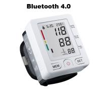 Buy cheap Bluetooth 4.0 Wrist digital lcd blood pressure monitor portable Tonometer Meter blood pressure meter for iOS and Android from wholesalers