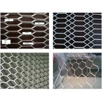 Buy cheap Stretch Weave Expanded Steel Diamond Mesh / Aluminum Expanded Mesh For Curtain Wall product