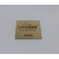 Buy cheap Square Metal Lables OEM Metal Label Metal Gifts and Crafts from wholesalers