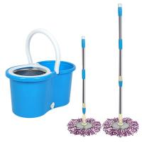 Buy cheap 360 Easy Wring Spin Mop and Stainless Steel Bucket with Wheels Includes Free Microfiber Mop Heads from wholesalers