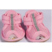 Buy cheap Cute Pink halloween sandal PET Dog Shoes with customized logo from wholesalers