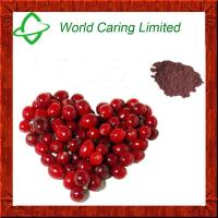 Buy cheap 100% Cranberry Extract 5%-70% Anthocyanin, 1%-95% Proanthocyanidins for anti from wholesalers