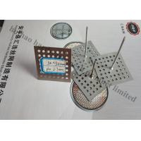 Buy cheap Perforated Base Insulation anchor Pins For Reinforceing Sound Absorbing Fabrics from wholesalers