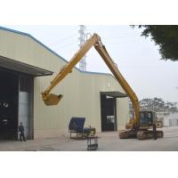 Buy cheap 0.4 Cum Bucket Long Reach Excavator Booms 2 Ton Counter Weight CAT320 8000 Mm Stick Length from wholesalers