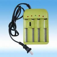 Buy cheap Travel Charger, 4-channel for Ni-NH, Ni-C, Alkaline, Li-ion and LiFePO Rechargeable Batteries from wholesalers