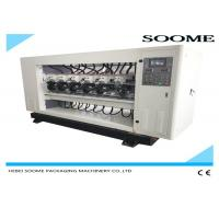 Buy cheap Up And Down Type Slitter Scorer Machine For Corrugated Box PLC Controlled from wholesalers