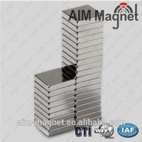 Buy cheap Permanent Type Zn N48 Square magnet 12x6x1mm from wholesalers