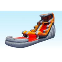 Buy cheap Lava Tidal Wave Inflatable Water Slides For Adult And Kids , Outdoor Games from wholesalers