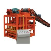 Buy cheap Hydraulic Semi Automatic Brick Making Machine For Hollow Bricks / Cement Bricks from wholesalers