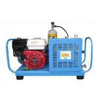 Buy cheap 21CFM 20HP Portable Scuba Air Compressors , Gas Driven Compressor from wholesalers