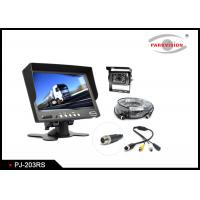 Buy cheap 600 TVL CCD Truck Rear View Camera W / 2 Way Input With 7 Inch Monitor product