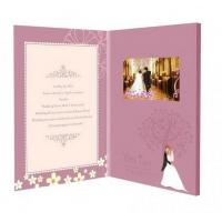 Quality Touch Screen TFT LCD Video Brochure for Personalized Wedding / Event / Conference for sale