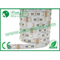Buy cheap Full Color Digital Flexible RGBW Warm Led Strip 5050 Building Decoration  Waterproof from wholesalers