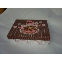 Buy cheap Cardboard Paper Box Cake Box Packaging With Embossing OEM Design from wholesalers