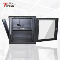 Buy cheap 600mm Wall Mount Rack Enclosure Cabinet , 12u Server Rack Cabinet With Net  Hole Door from wholesalers
