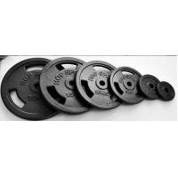 Buy cheap Custom Iron Weight Plates , Cast Iron Olympic Weight Plates Fit Build Muscle from wholesalers