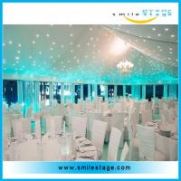 Special Occasions Holiday led star curtain for wedding /big commercial