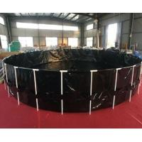 Buy cheap Black 6000 Gallon Fish Tank , Ornamental Fish Breeding With Steel Frame from wholesalers