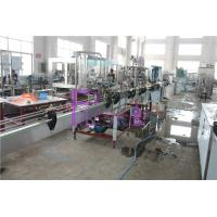 Buy cheap 2000BPH Carbonated Beverage Filling And Capping Machines Electric Bottle Beer Filling Line from wholesalers