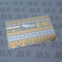 Buy cheap Flash gold foil tattoo. from wholesalers