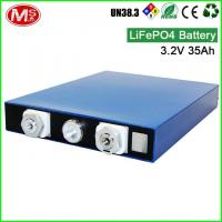 Buy cheap 3.2V 35Ah Lithium Ion Prismatic Cell , Portable Solar Power Generator For Home from wholesalers