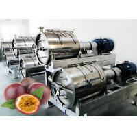 Buy cheap 220v Full Automatic Passion Fruit Pulping Machine Food Standard Stainless Steel 304 Material from wholesalers