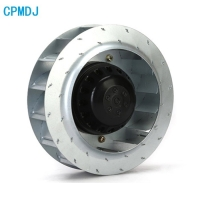 Buy cheap Sliding Bearing Multiple Blade 250mm Backward Curved Centrifugal Blower Fan product