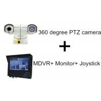 Buy cheap High Speed 100M IR Distance Car PTZ Camera With 3G GPS MDVR Monitor Joystick product