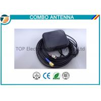 Buy cheap Magnetic Or Adhesive 28 Dbi Combo Antenna For Car Tracking System product