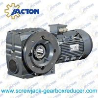 Buy cheap 1/3HP 0.25KW S Series Worm Gearbox Motor Reducer, Helical Worm Gearbox Specifications from wholesalers