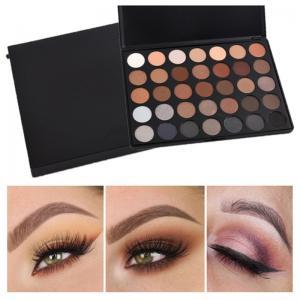 Buy cheap 35 Color Mineral Makeup Eyeshadow Custom Makeup Palette Morphe Eyeshadow product