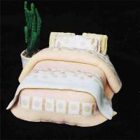Buy cheap best selling model beds furniture bed , mini model bed for indoor scenery layout from wholesalers